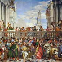 """The Wedding at Cana"" by Paolo Veronese"
