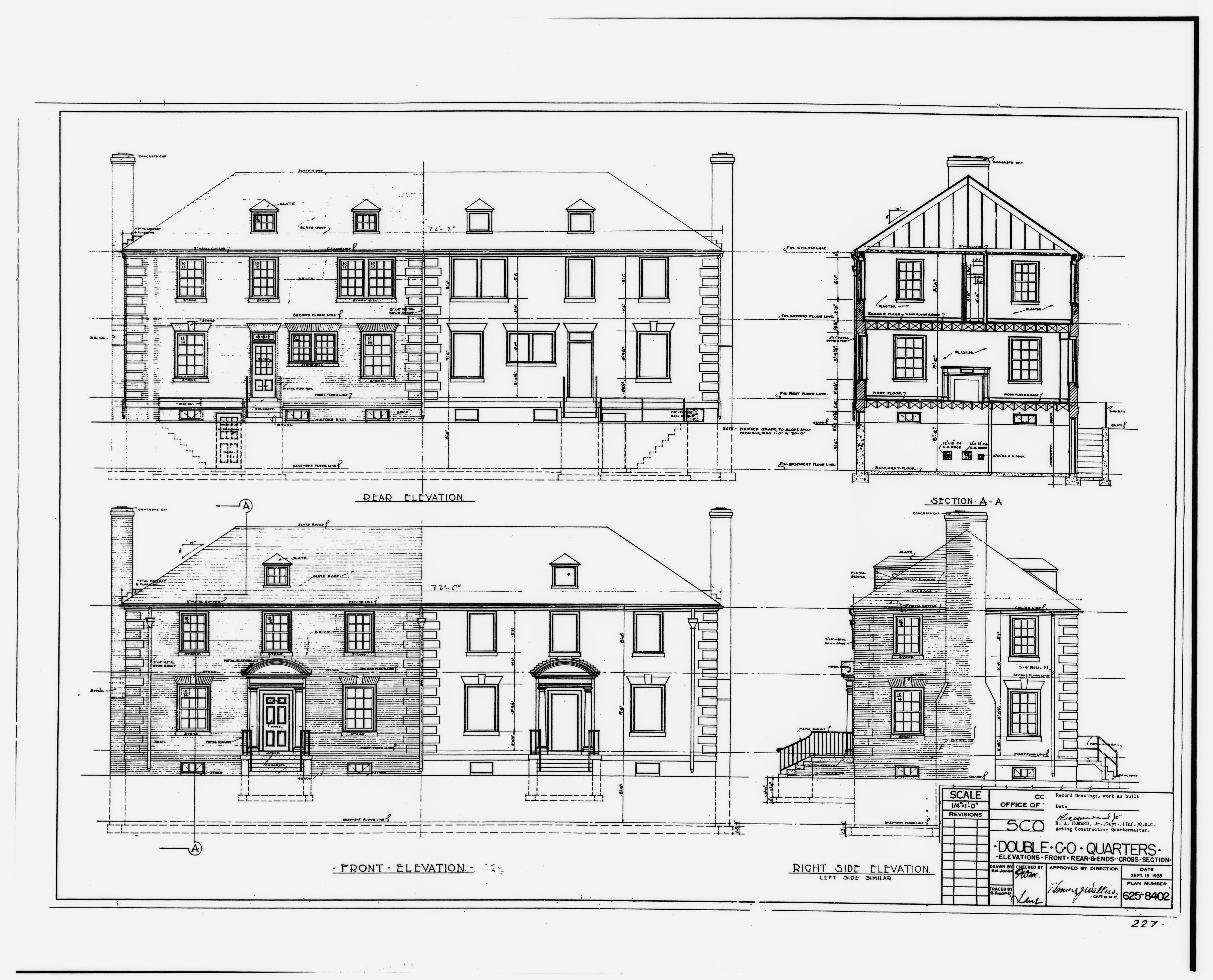 File Photographic Copy Of Sepia Of Original Construction