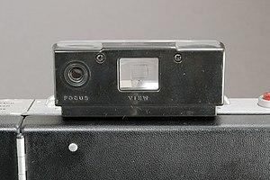 Polaroid Land Camera Automatic 100, Messsucher...