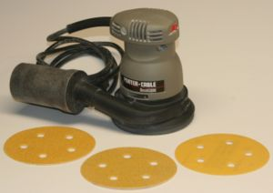 A Porter-Cable model 333 random orbital sander