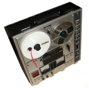 Image of a Sony TC-630, a reel-to-reel recorde...