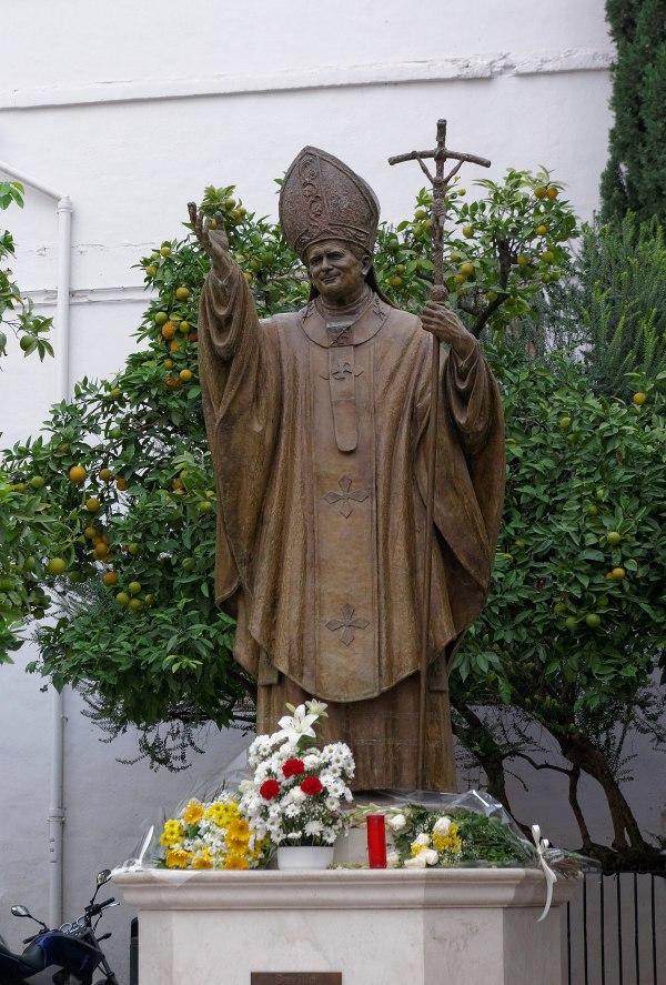 Monumento Juan Pablo Ii Sevilla - Wikipedia La