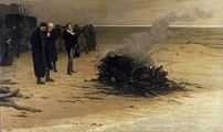 The Funeral of Percy Bysshe Shelley, by Louis ...