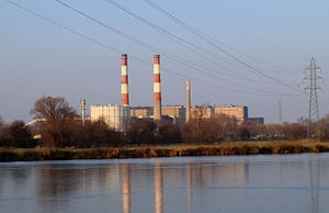 English: The Thermal power station at Richemon...
