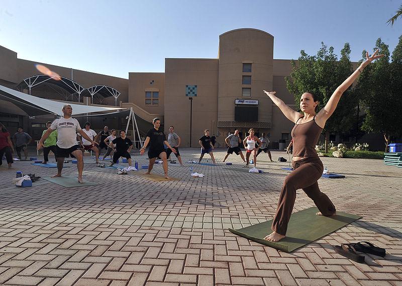 Yoga fitness welfare