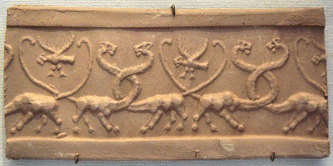 Image result for oldest depiction of Mušḫuššu