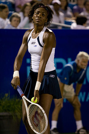 Venus Williams playing World Team Tennis in Ma...