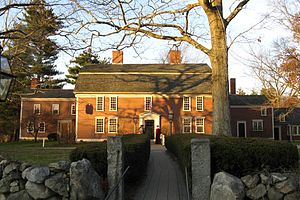 English: Wayside Inn, Sudbury Massachusetts, N...