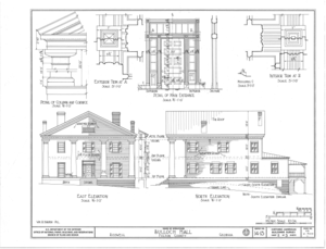 File:Bulloch Hall, Roswell, Fulton County, GA HABS GA,61
