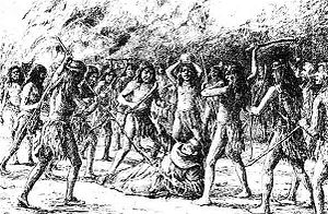 English: Illustration depicting the death of F...