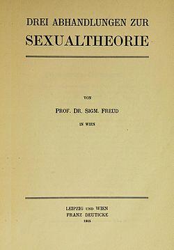 Trois Essais Sur La Théorie Freud : trois, essais, théorie, freud, Trois, Essais, Théorie, Sexuelle, Wikipédia