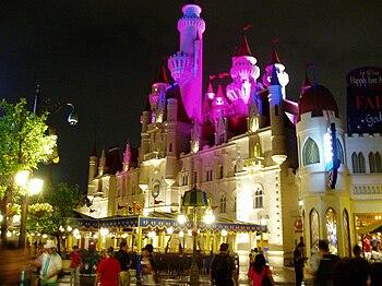 English: The Far Far Away Castle at Universal ...