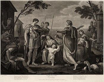 Act V, Scene III of Shakespeare's Coriolanus. ...