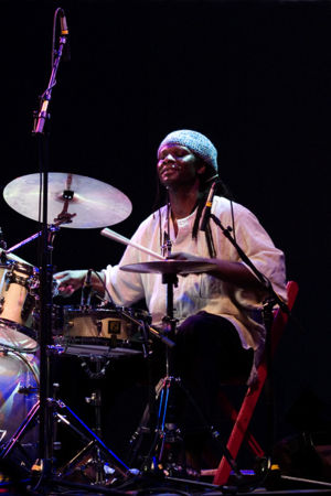 Hamid Drake at Moers Festival 2006, Germany