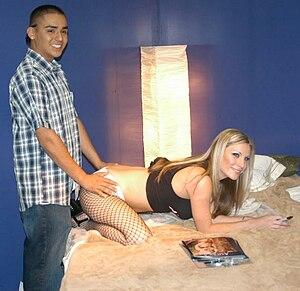 Porn star Harmony Rose at the 2006 Erotica Los...