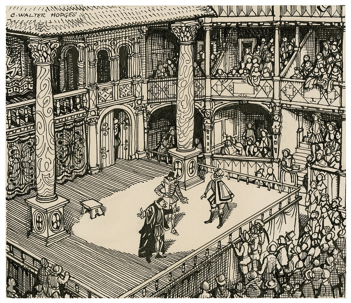 shakespeare globe theater diagram modern house wiring c walter hodges wikipedia