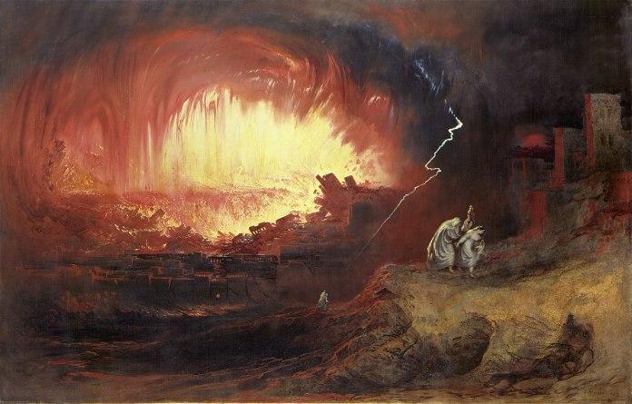 Η καταστροφή των Σοδόμων και της Γόμορας