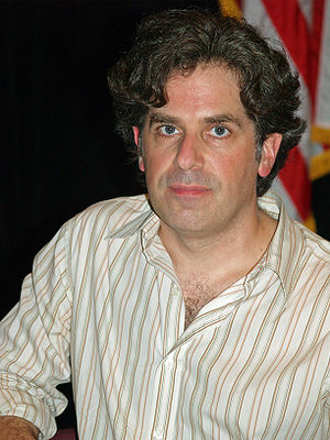 English: Jonathan Lethem at the 2008 Brooklyn ...