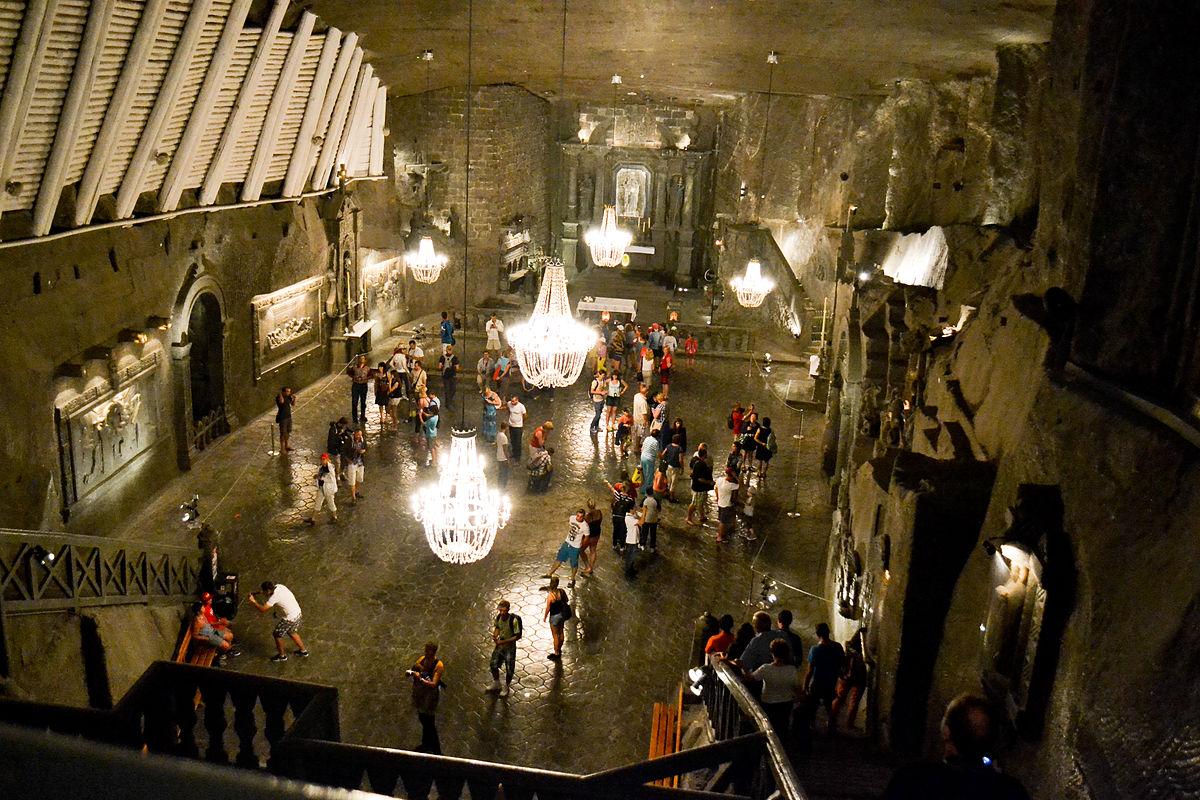 Miniera di sale di Wieliczka  Wikipedia