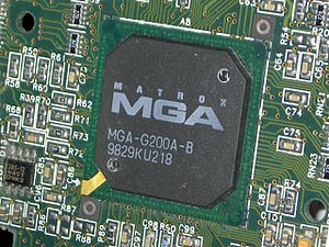 Matrox MGA-G200 (0.35um process ver.)