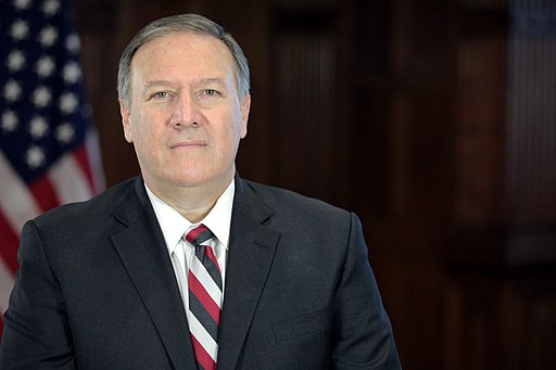 Mike Pompeo transition portrait full