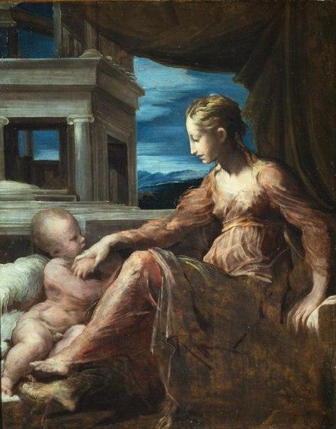 File:Parmigianino, Virgin and Child.jpg