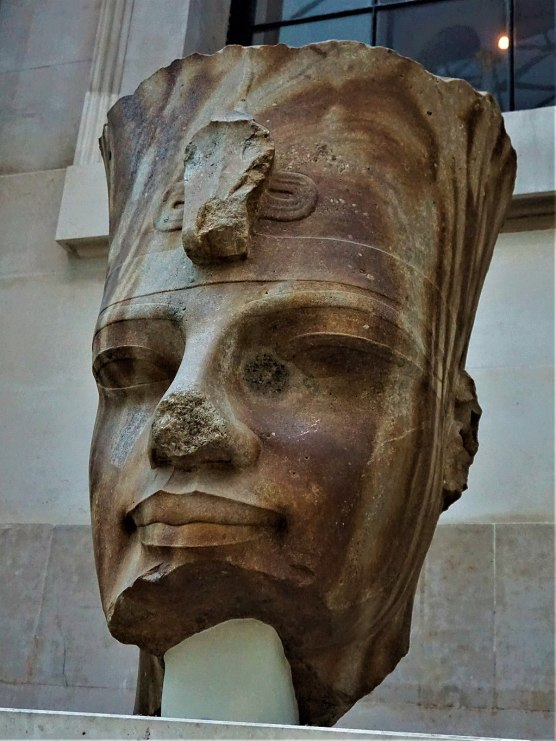 Quartzite Head of the Egyptian Pharaoh Amenhotep III - Joy of Museums 2