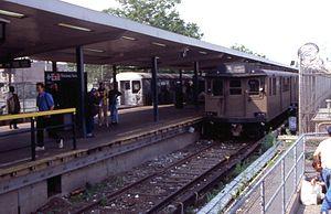 Subway Station At Rockaway Parkway In 2002