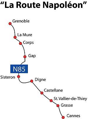 La Route Napoleon