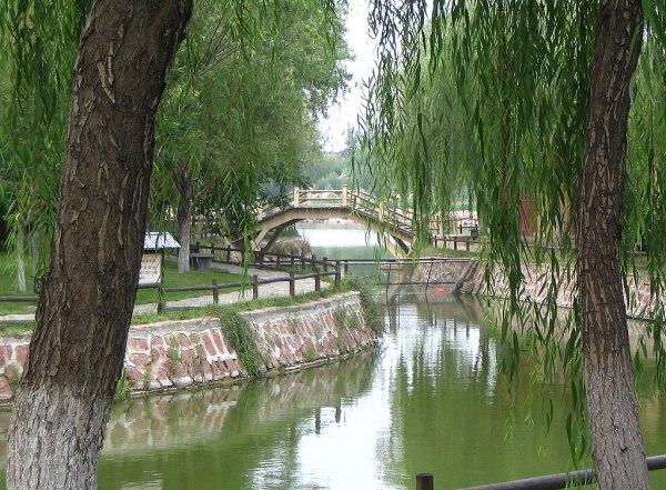 file small bridge qingming riverside