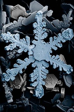 Snow crystals 2b
