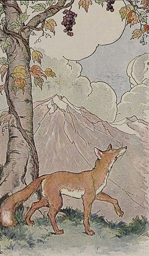The Fox and the Grapes by Aesop. When the fox ...