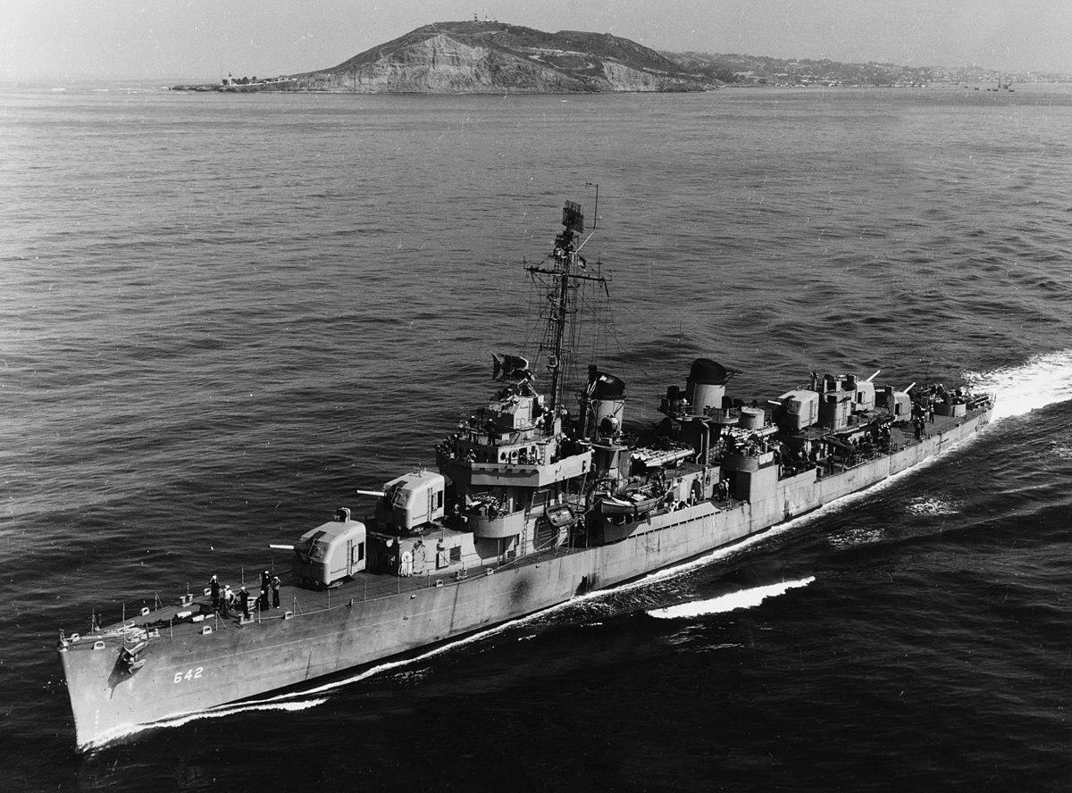 USS Hale DD 642 Wikipedia