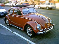 1961 Beetle (approx) in Seattle with sunroof i...