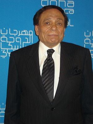 Adel Imam in Qatar 2009.