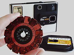 Camera Kodak Disc 4000 with disc film