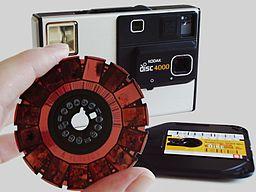 Camera Kodak Disc 4000 with disc film