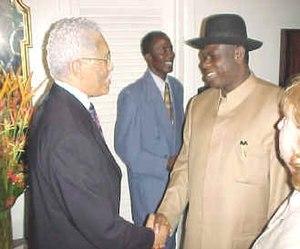 Governor of Bayelsa State Chief Diepreye Alami...