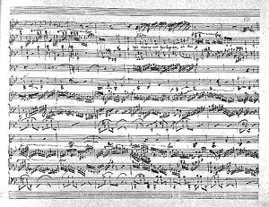Chopin trio partiture