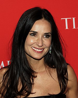 English: Demi Moore at the 2010 Time 100.