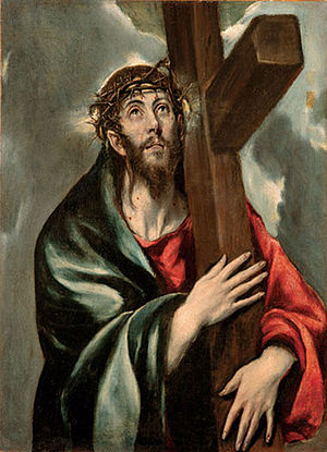 El Greco - Jesús con la Cruz a cuestas