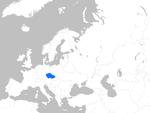 Europe map czechia.png