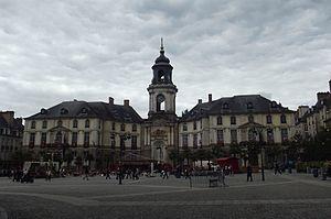 Français : Hôtel de ville de Rennes (Ille-et-V...