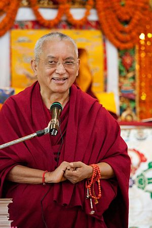 English: Kyabje Lama Thubten Zopa Rinpoche boo...