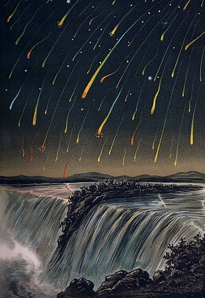 Leonid Meteor Storm, as seen over North Americ...