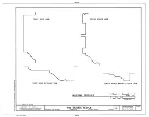 File:Masonic Temple, Lodge F. and A. M. No. 41, 215 North