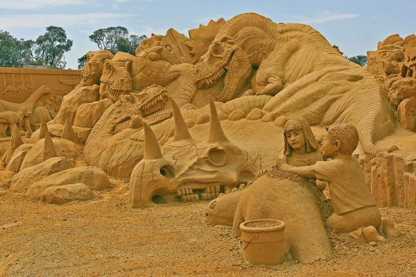Frankston Sand Sculptures