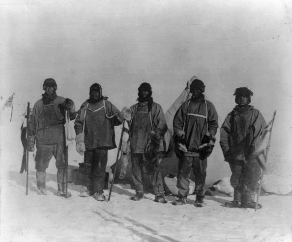 Terra Nova expedition at the South Pole - LOC 3a30750u