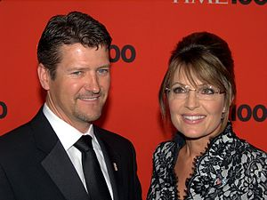 English: Todd Palin and Sarah Palin at the 201...