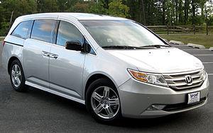 2011 Honda Odyssey photographed in Silver Spri...